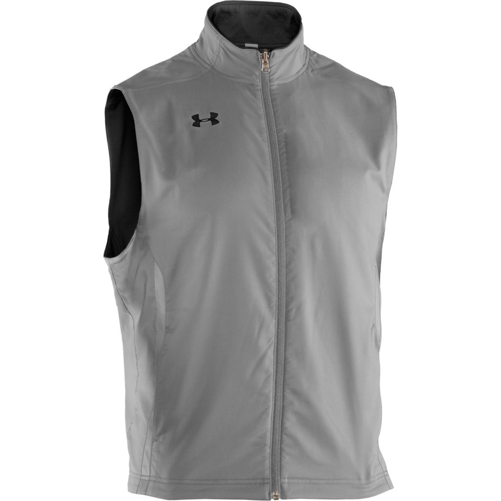 Under Armour Men's Black Sideline Reversible Vest