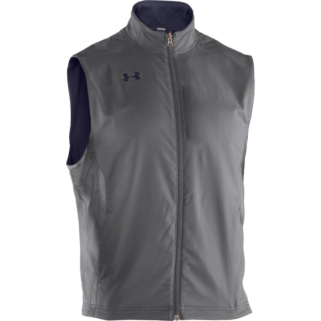 Under Armour Men's Midnight Navy Sideline Reversible Vest