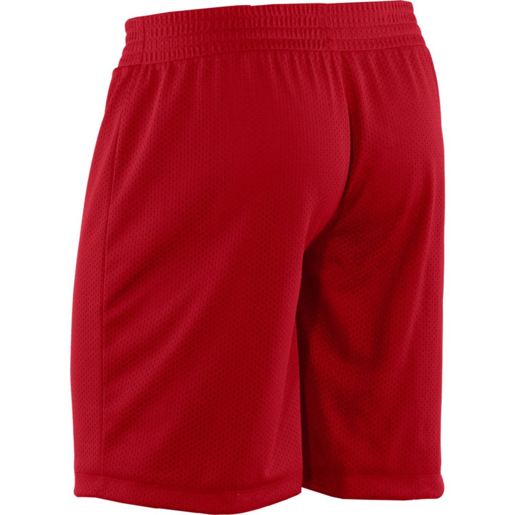 Under Armour Women's Red Double Shorts