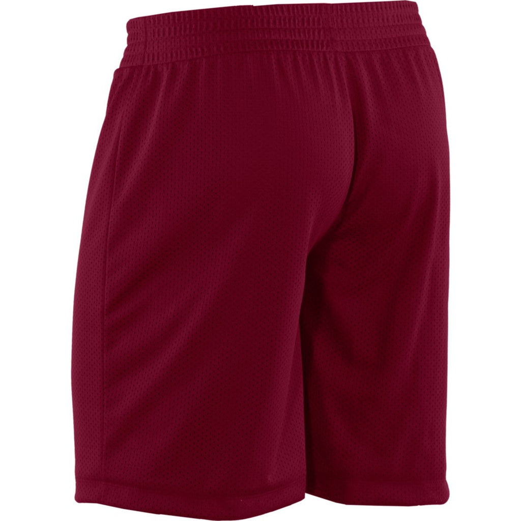 Under Armour Women's Maroon Double Shorts