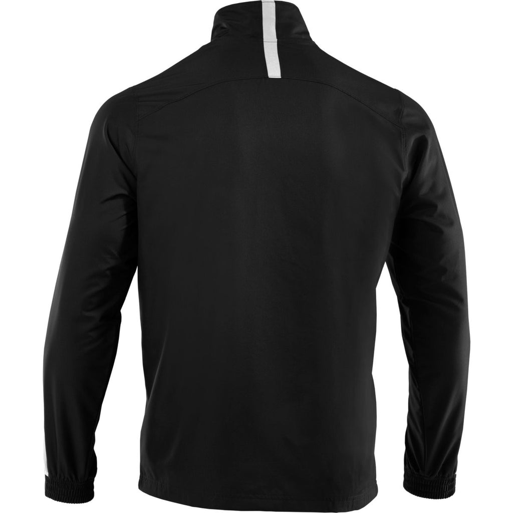 Under Armour Men's Black/White Essential Woven Jacket