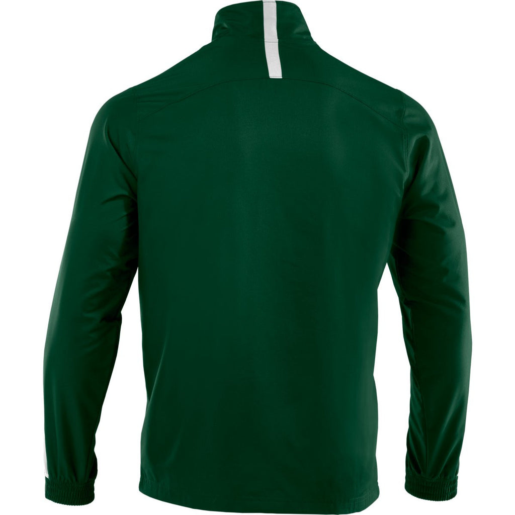 Under Armour Men's Forest Green/White Essential Woven Jacket