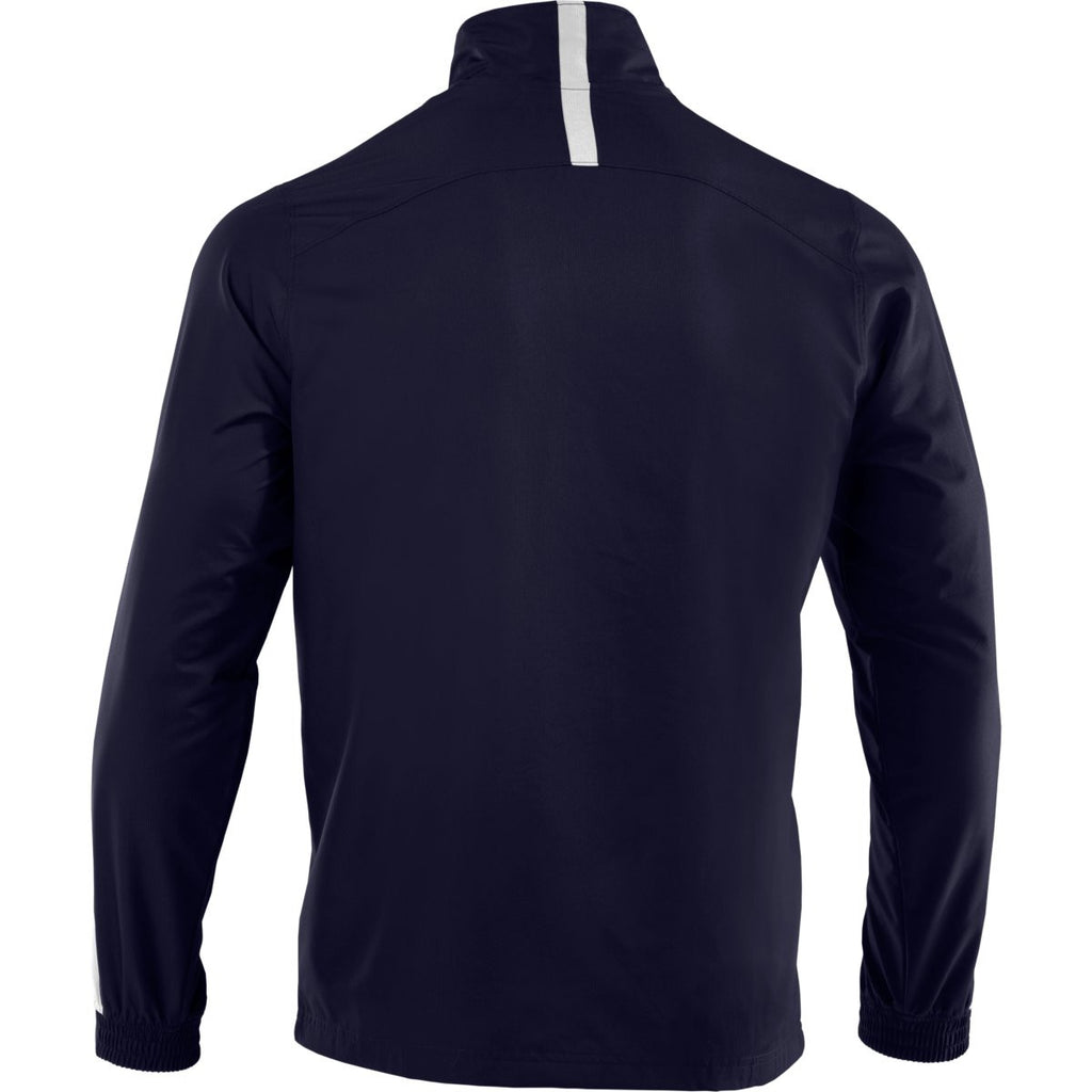 Under Armour Men's Midnight Navy/White Essential Woven Jacket