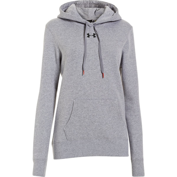 530b6ee2d63f Under Armour Women s True Gray Heather Rival Fleece Hoodie