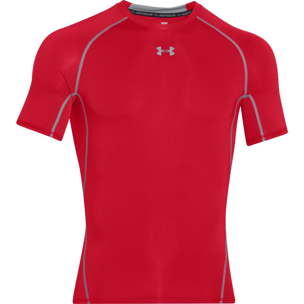 093672d7c Under Armour Men s Red HeatGear Armour S S Compression Shirt