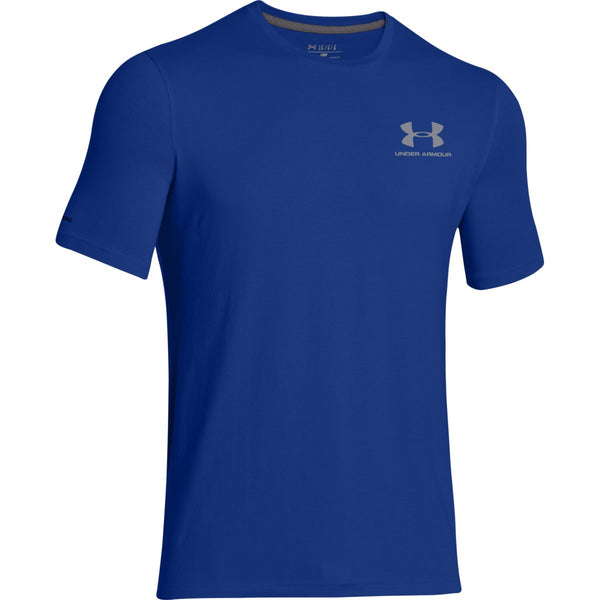 under armour t shirts. under armour men\u0027s royal charged cotton sportstyle t-shirt t shirts