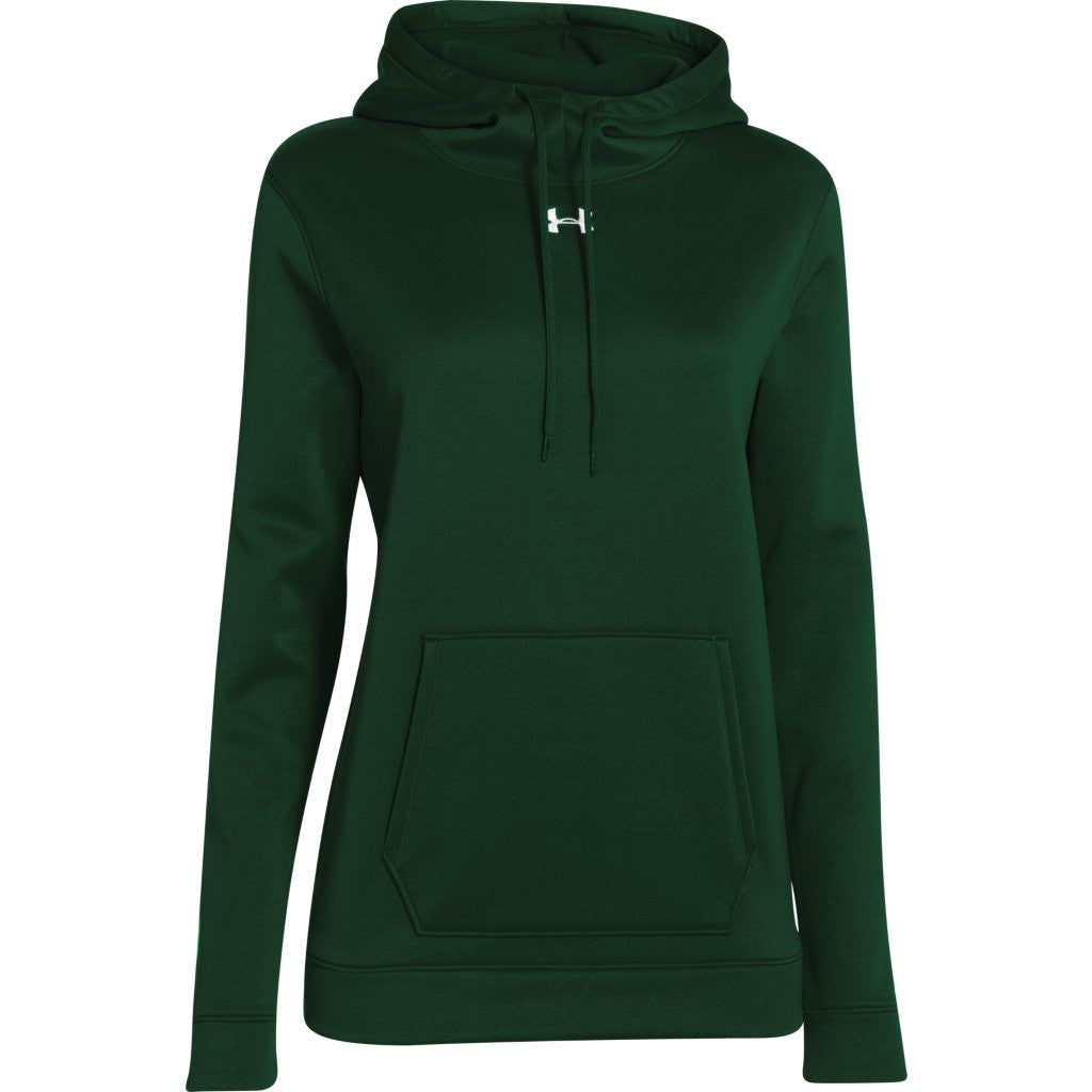 518a9c198ad7 Under Armour Women s Forest Green Storm Armour Fleece Hoodie. ADD YOUR LOGO