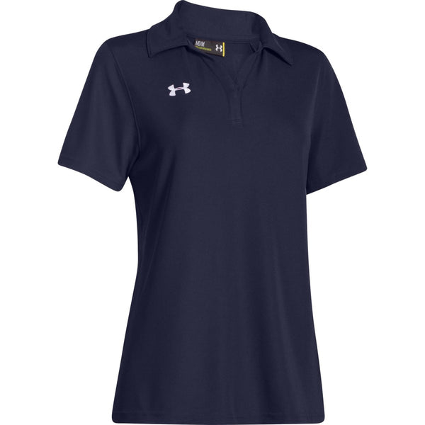 Under armour women 39 s polos shop ua corporate polo shirts for Under armor business shirts