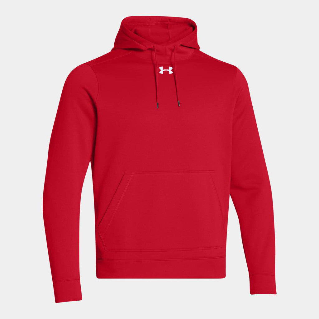 Madden - Screen Printed Under Armour Men's Red Storm Armour Fleece Hoodie