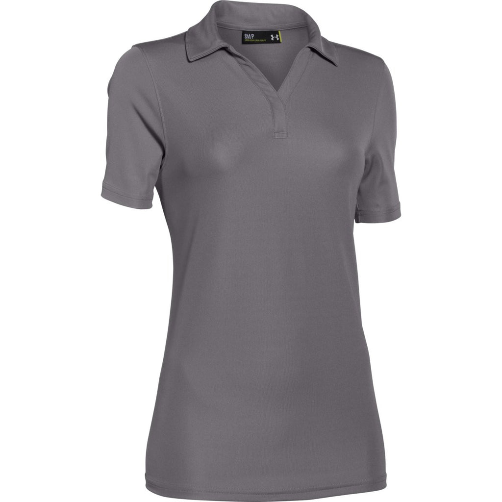 72d3516e Under Armour Corporate Women's Graphite Polo