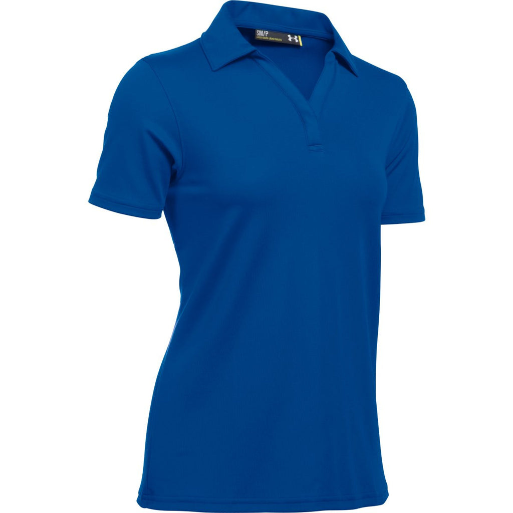 Under Armour Corporate Women s Royal Blue Performance Polo. ADD YOUR LOGO d17405251b2e4