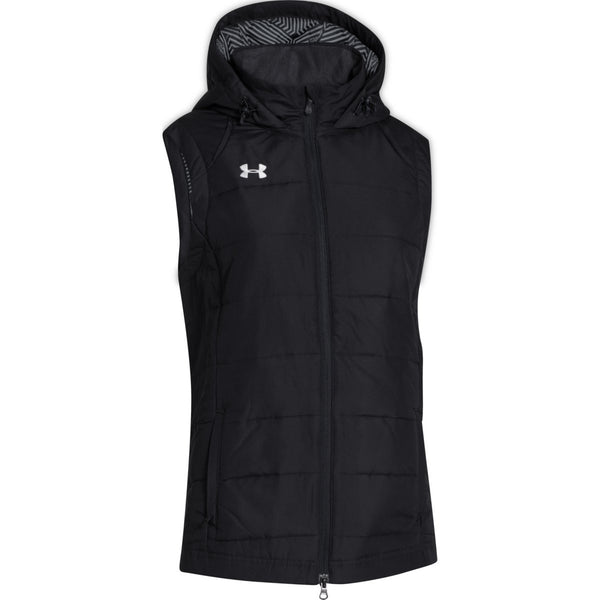 under armour jackets women s. under armour women\u0027s black coldgear infrared elevate vest jackets women s d