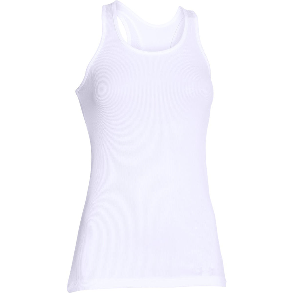 ad943373760c3 Under Armour Women s White Tech Victory Tank. ADD YOUR LOGO