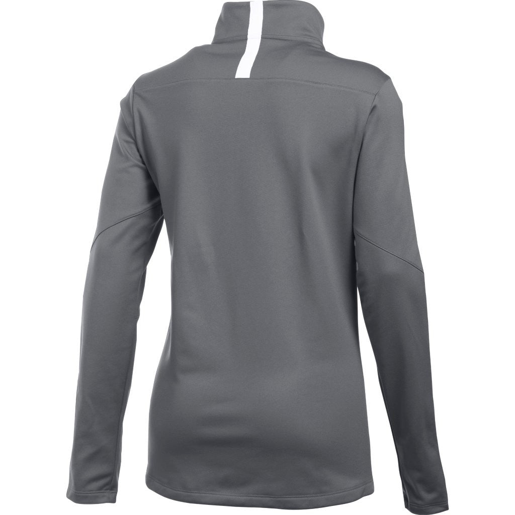Under Armour Women's Graphite Corporate Qualifier Quarter Zip
