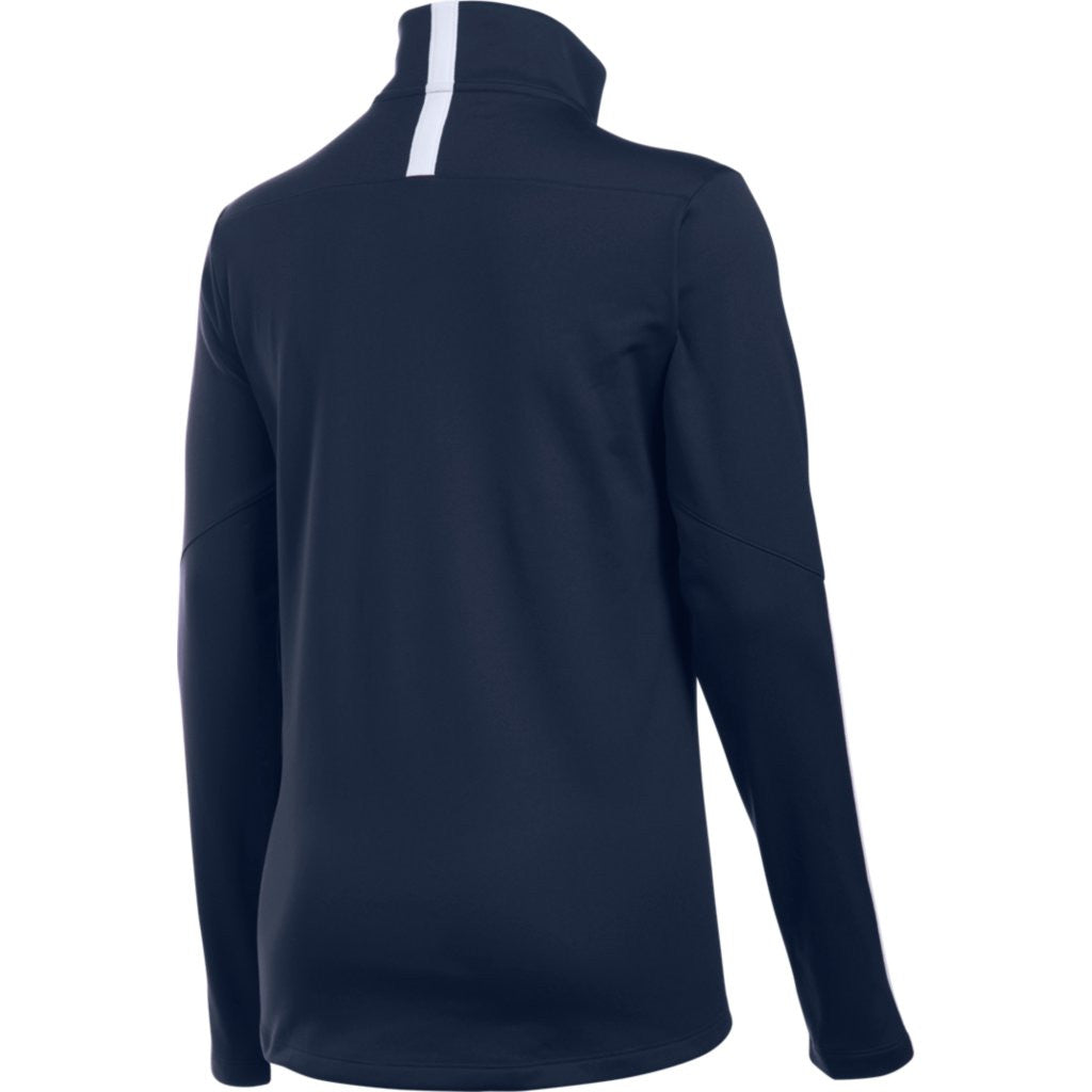Under Armour Women's Midnight Navy Corporate Qualifier Quarter Zip