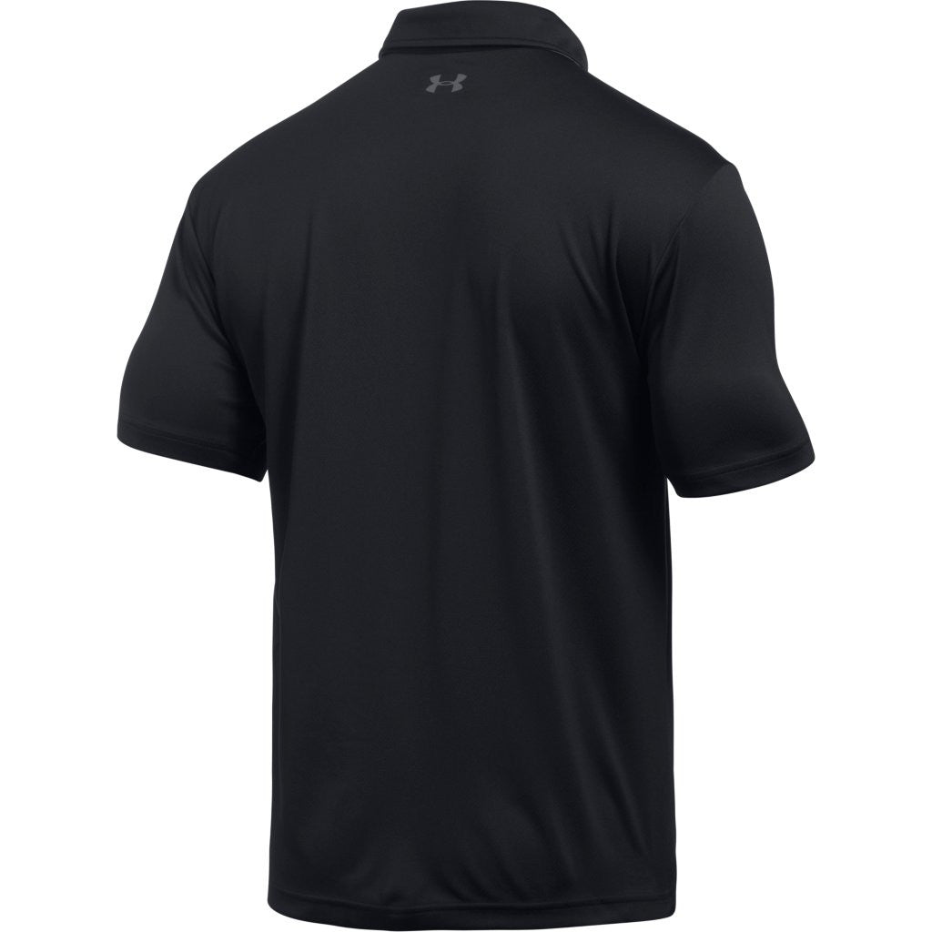 Under Armour Corporate Men's Black Tech Polo