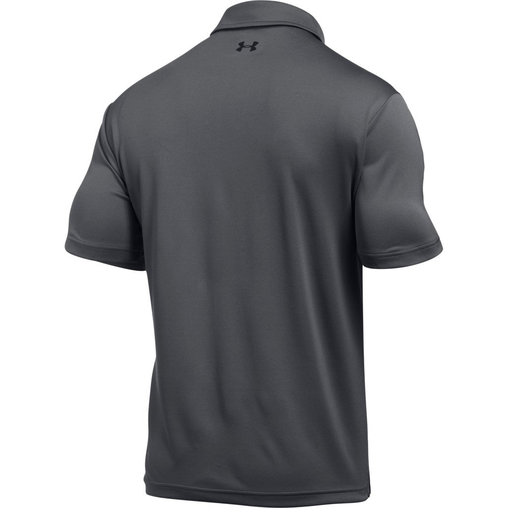 8166b9fb0c Under Armour Corporate Men's Graphite Tech Polo