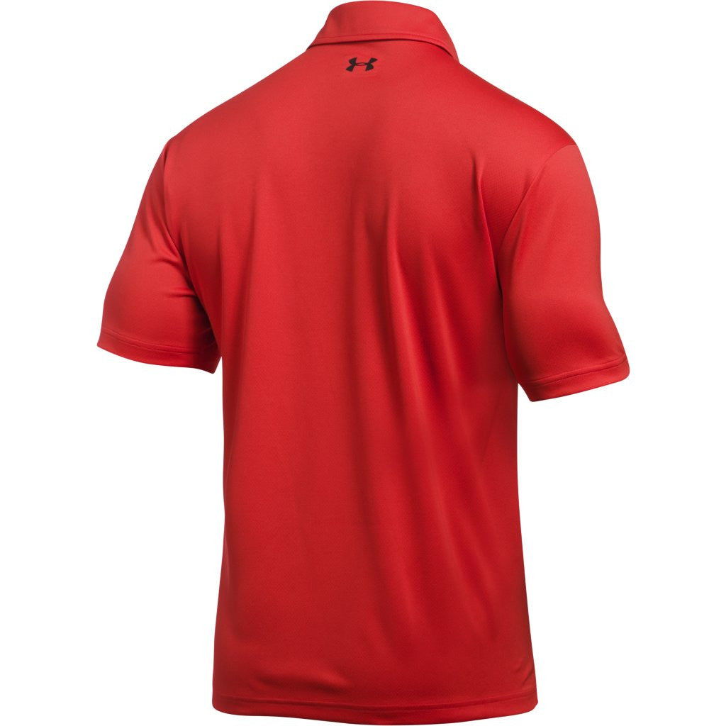 Under Armour Corporate Men's Red Tech Polo