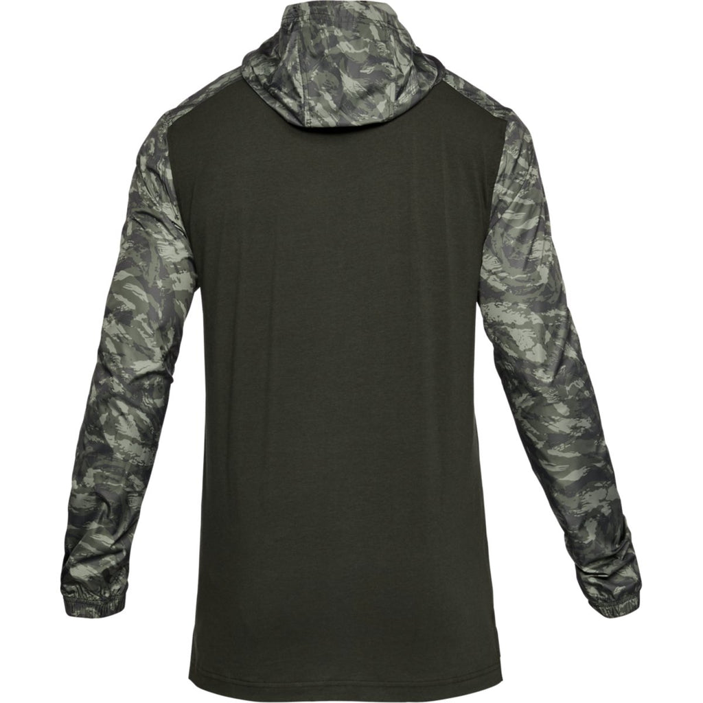 Under Armour Men's Artillery Green Wind Anorak Jacket