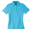 page-tuttle-womens-turquoise-stripe-polo
