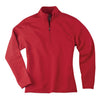 page-tuttle-womens-red-quarter-zip