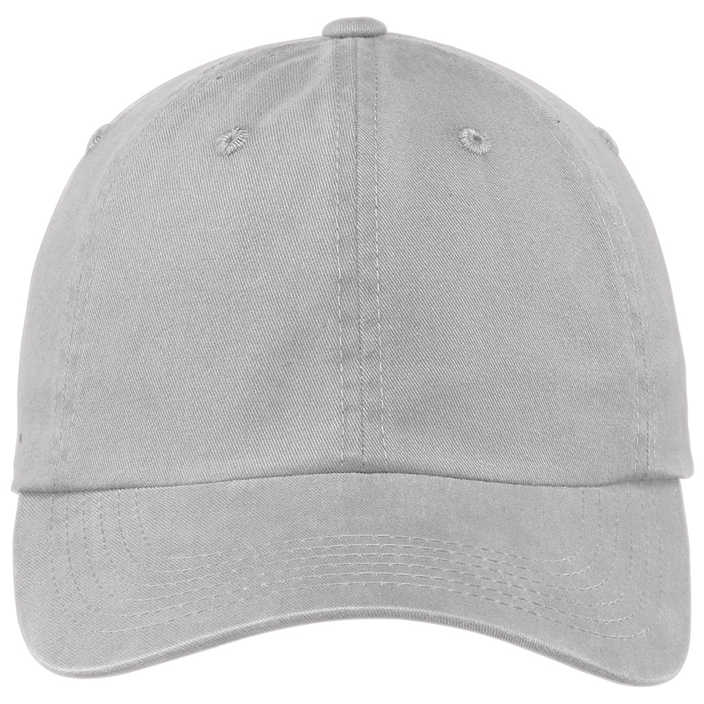 Port Authority Chrome Garment Washed Cap