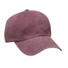 port-authority-burgundy-washed-cap