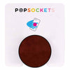 PopSockets Brown Vegan Leather Grip Phone Holder