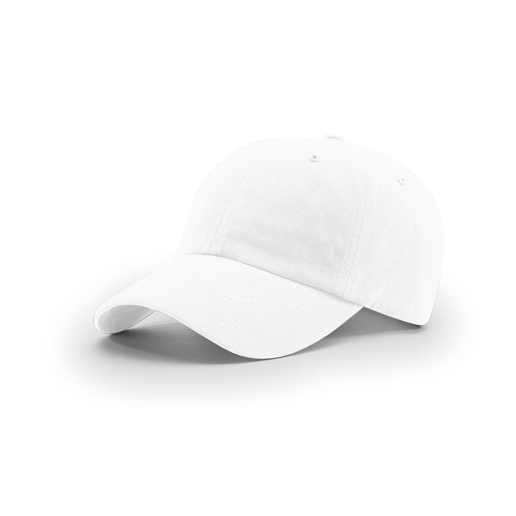 8b158b56f2c Richardson White R-Series Garment Washed Twill Cap