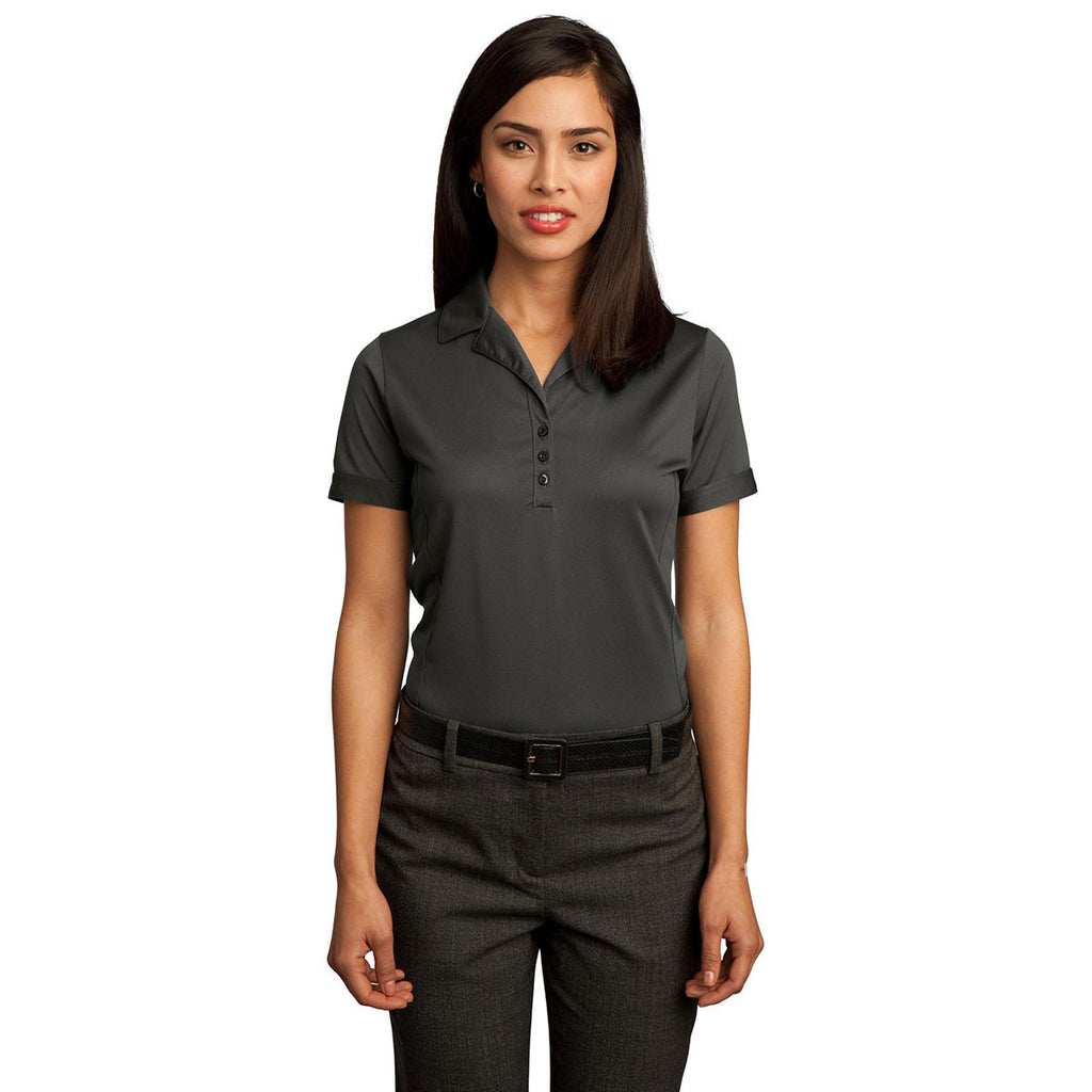 Red House Women's Clay Green Contrast Stitch Performance Pique Polo