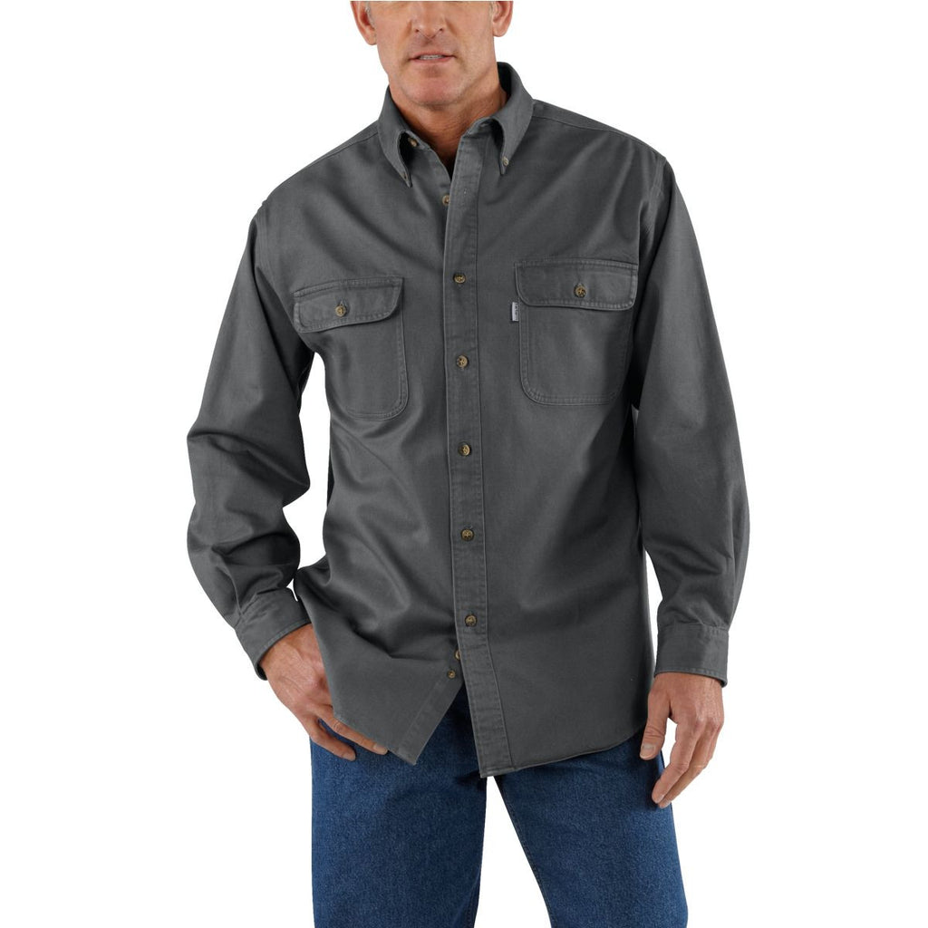 Carhartt Men's Gravel Oakman Work Shirt