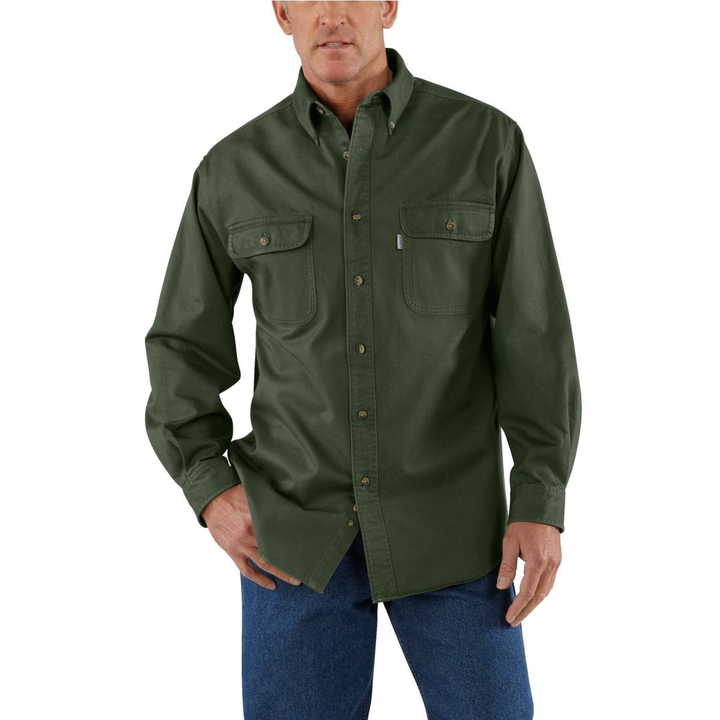 Carhartt Men's Moss Oakman Work Shirt