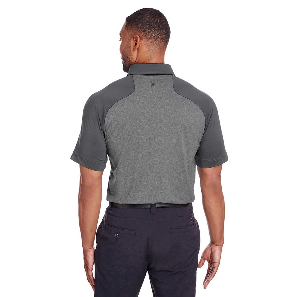 Spyder Men's Polar Heather/Polar Peak Polo