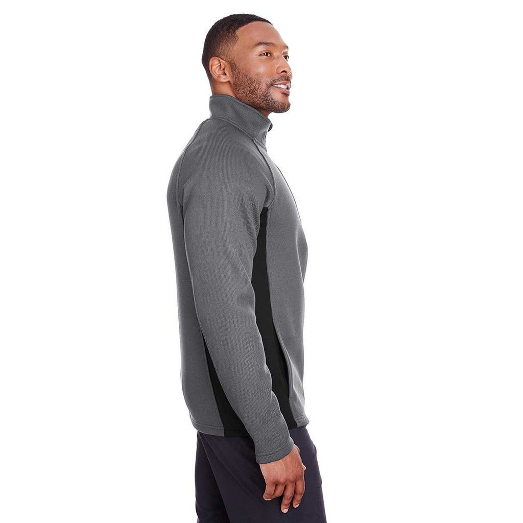 Spyder Men's Polar/Black Constant Half-Zip Sweater