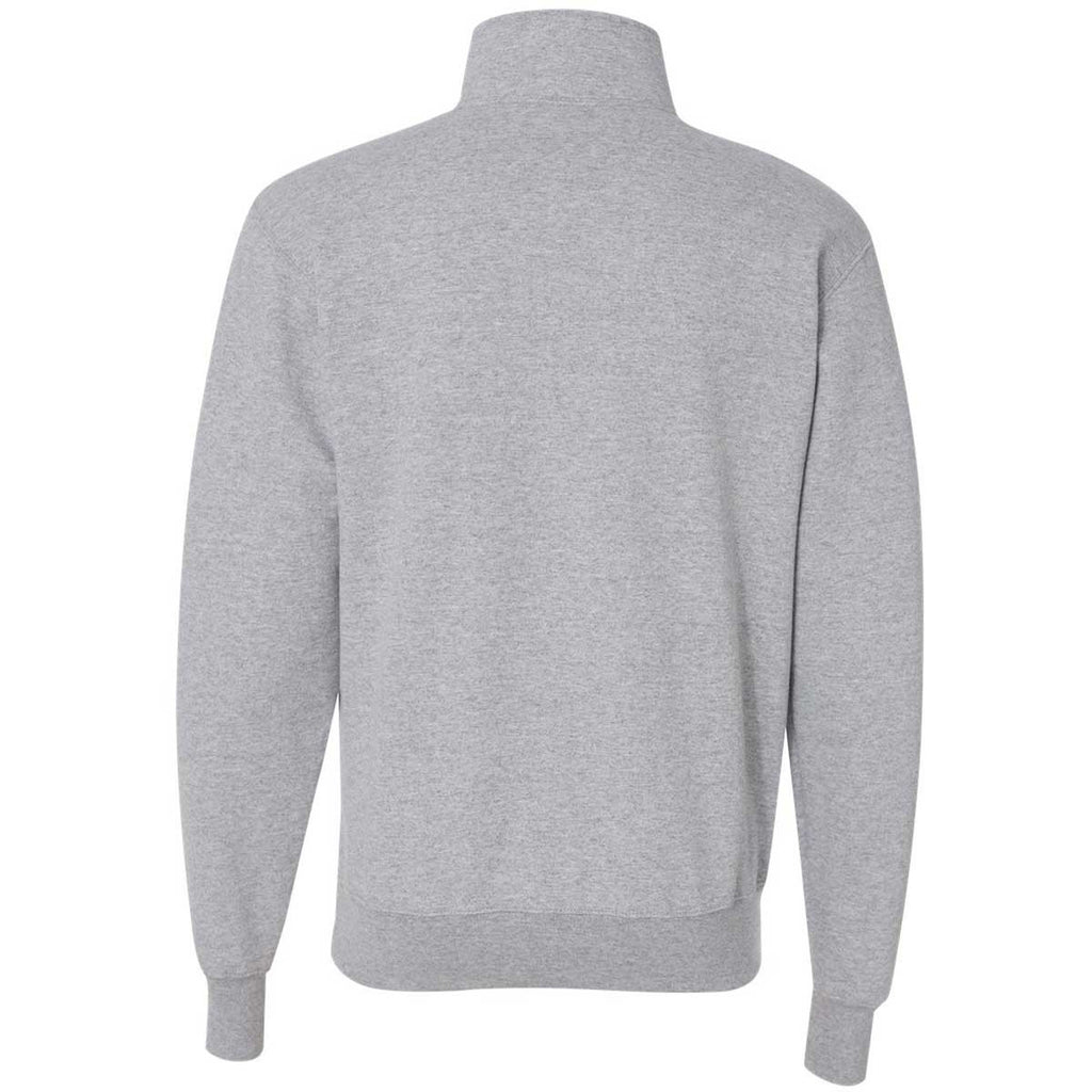 Champion Mens Quarter-Zip Double Dry Pullover Top