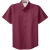 port-authority-burgundy-ss-shirt
