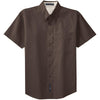 port-authority-brown-ss-shirt