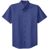port-authority-blue-ss-shirt