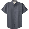 port-authority-grey-ss-shirt