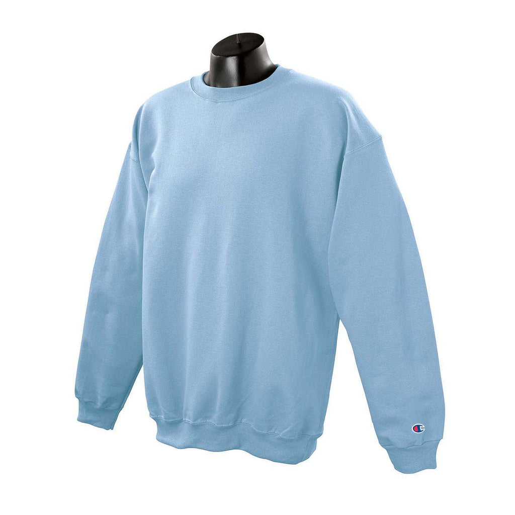 Champion Men's Sweatshirt Light Blue Crewneck jLqUMpGzVS