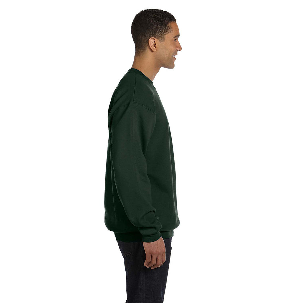 Champion Men's Forest Green Crewneck Sweatshirt