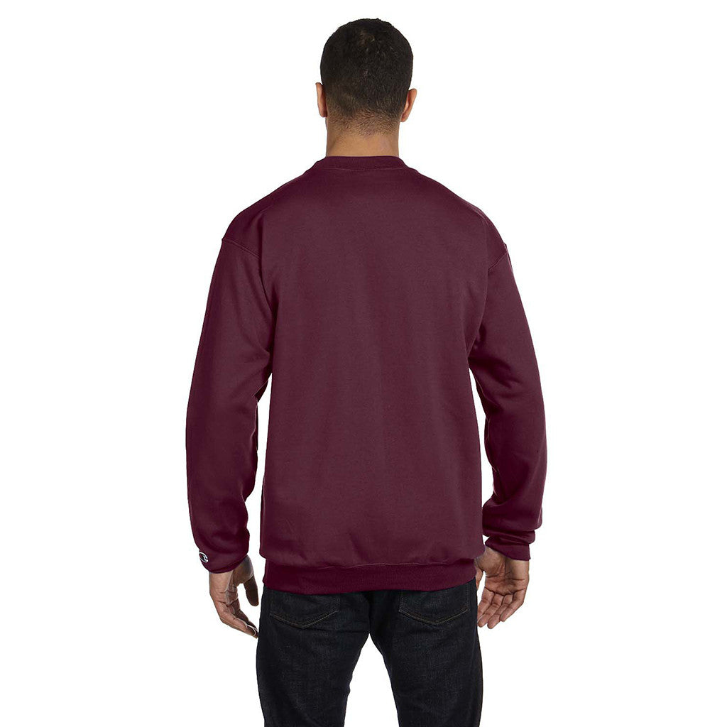 Champion Men s Maroon Crewneck Sweatshirt d32f746e6dd2