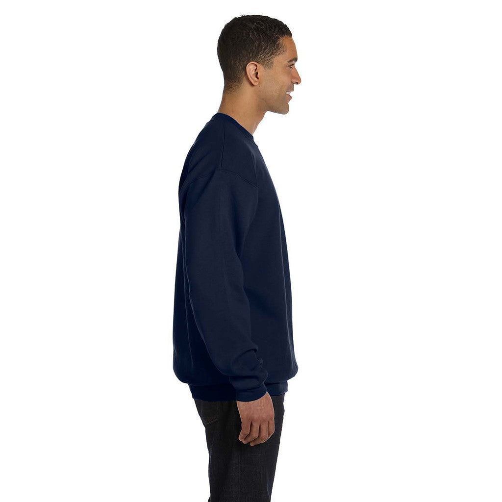 Champion Men's Navy Crewneck Sweatshirt