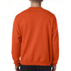 Champion Men's Orange Crewneck Sweatshirt