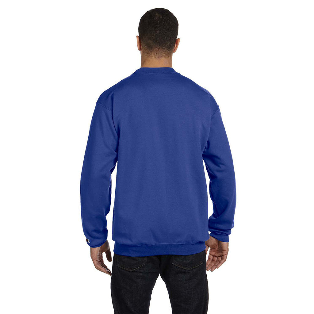 Champion Men's Royal Blue Crewneck Sweatshirt