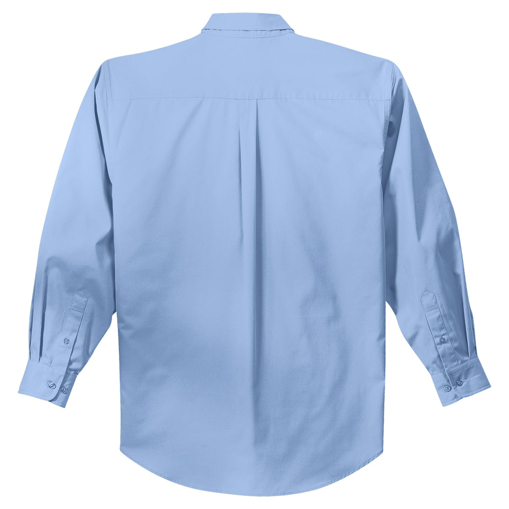 Port Authority Men's Light Blue L/S Easy Care Shirt