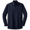 port-authority-navy-ls-shirt