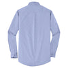 Port Authority Men's Chambray Blue Crosshatch Easy Care Shirt