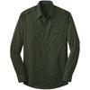 port-authority-green-twill-shirt