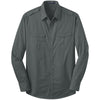 port-authority-grey-twill-shirt